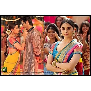 Alia Bhatt Bollywood Replica Georget  Saree