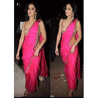 Katrina's BollyWood Replica Pink Saree