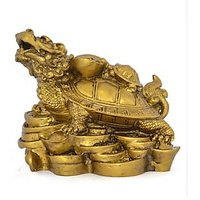 Kriti Feng Shui Dragon Head Tortoise With Baby