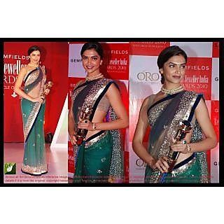 Deepika Padukone Bollywood Saree