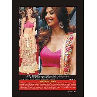 Bollywood Replica - Shilpa Shetty  Designers Lahenga For Festive Season
