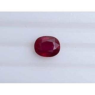 Ruby(Bangkok) Wt-5.62ct.(10.99/8.93)mm. Oval With Certificate RbBK00004