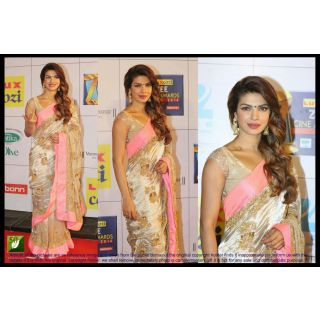 BOLLYWOOD REPALICAS Priyanka Chopra  60GM SUPER COTTING WITH LACE BORDER WORK