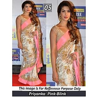 Priyanka Chopra Exlusive Designer Saree
