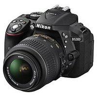 Nikon D5300 DSLR With 18-55mm VR Lens