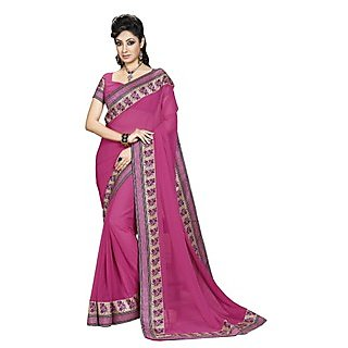 Colors Fashion Peach Chiffon Latest Designer Fancy Printed Saree - 74922730