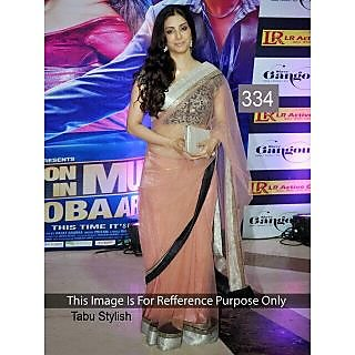 Tabu Stylish Net Pink Bollywood Designer Saree