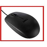 ORIGINAL DELL MS-111 USB OPTICAL MOUSE For PC | LAPTOP With 3 Yr WARRANTY