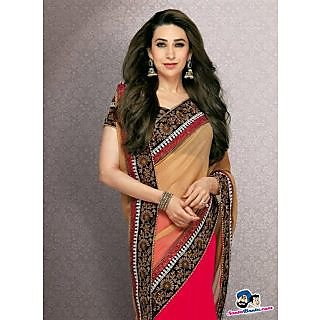 Karisma Kapoor Replica Saree Latest Indian Designer Wear