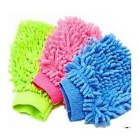 Microfibre Cleaning Gloves( Set Of 3 Pcs )