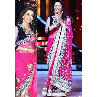 DIF Madhuri Dixit Rani Beauty Saree - 74937122