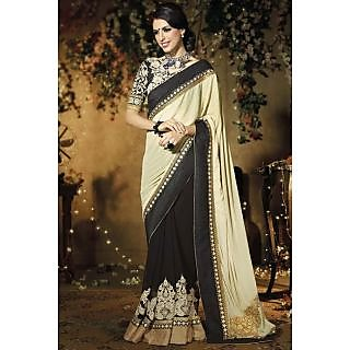 Bollywood Replicas Nakashi Black Saree