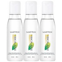 Matrix Biolage Deep Smoothing Serum-Pack Of 3