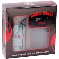 Double Cross Gift Set For Men DEO  Perfume Combo - 74938436