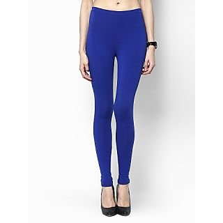 New Trend Free Size Cotton Blue Leggings