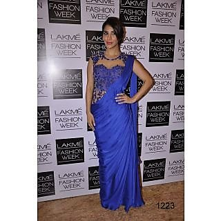 Bollywood Designer Sarees- Sophie Royal Blue Saree