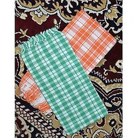 COTTON TOWELS--a Set Of Two South Indian Towels Size 30 X 60