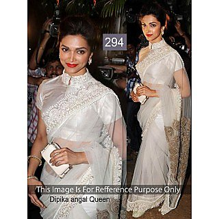 Moni Fashion Gorgeous Designer Party Wear Embroided Saree
