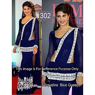 Moni Fashion In Fashion Designer Party Wear Embroided Saree