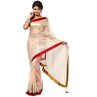 Nairiti Bollywood Replica Saree Priyanka Chopra Beige Color Saree
