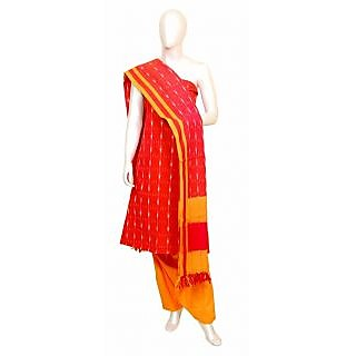 Pochampally Ikkat Dress Material