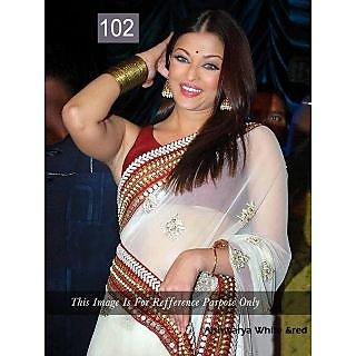 Ashwariya White & Red