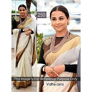 Bollywood Saree Vidhya Balan Designer Saree 250