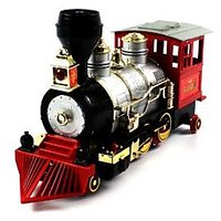 Rocky Mountain Battery Operated Smoking Loco Bump & Go Train With Sounds