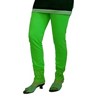 Almos 4 Way Viscose Lycra Mint Green Plazo Legging