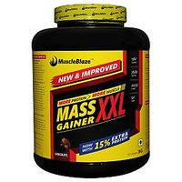 MuscleBlaze Mass Gainer XXL , Chocolate ,  3 Kg / 6.6 Lbs