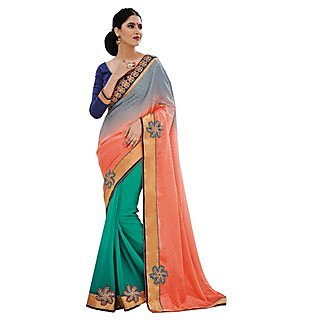 Beautiful Fancy Jacquard Multy-Saree