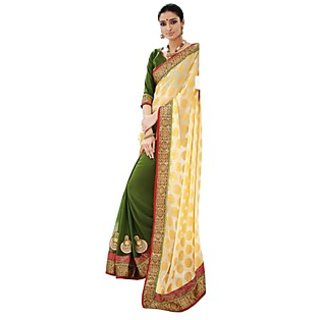 Beautiful Fancy Jacquard Multy Saree