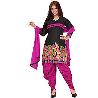 Ayesha Takia In New Arrival Pink And Black Salwar Suit