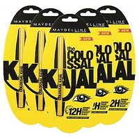 Maybellina Colossal Kajal- Pack Of 5