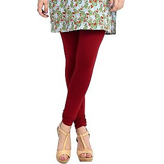 Nikita Maroon Cotton Legging