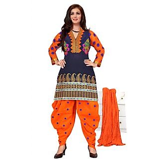 Ayesha Takia In Latest Orange And Black Salwar Sui