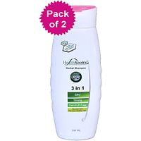 Healthsootra Herbal Shampoo 200 Ml Pack Of 2