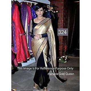 Mandira Gold Queen Awesome Designer Saree