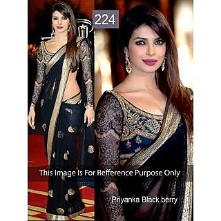 Priyanka Blackberry In Awesome Designer Saree