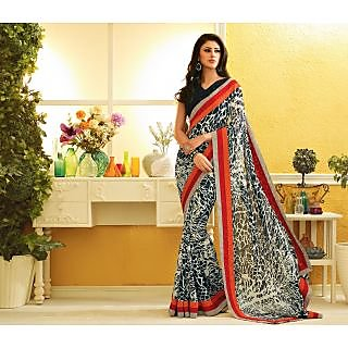 RnLush3144 Bollywood Designer Collection By Chiffon Saree With Silk Blouse.