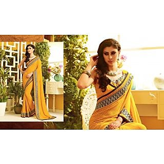RnLush3148 Bollywood Designer Collection By Chiffon Saree With Silk Blouse.