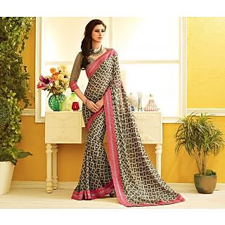RnLush3149 Bollywood Designer Collection By Chiffon Saree With Silk Blouse.