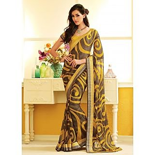RnLush3150 Bollywood Designer Collection By Chiffon Saree With Silk Blouse.