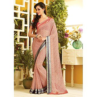 RnLush3156 Bollywood Designer Collection By Chiffon Saree With Silk Blouse.