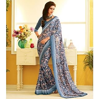 RnLush3162 Bollywood Designer Collection By Chiffon Saree With Silk Blouse.