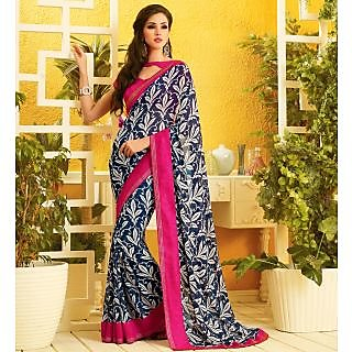 RnLush3163 Bollywood Designer Collection By Chiffon Saree With Silk Blouse.
