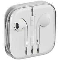 Apple IPhone Earpods Earbuds Earphones Headphone White Box Pack - 75063874