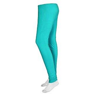 New Trend Cotton Lycra Legging-Light Blue