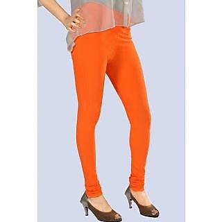 New Trend Cotton Lycra Orange Legging