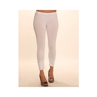 New Trend Cotton Lycra White Legging
